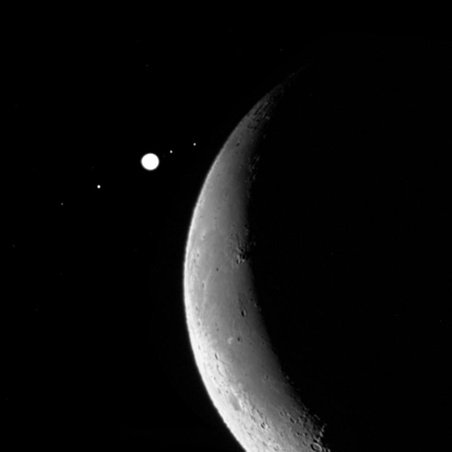 Occultation Jupiter